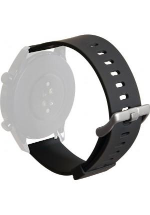 WRISTBAND PURO FOR MULTIBRAND WATCH SILICONE 22mm BLACK UNIWBICON22BLK