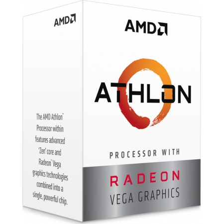 CPU AMD AM4 ATHLON 240GE 3.5GHz...