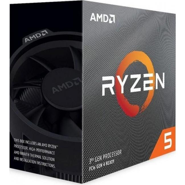CPU AMD AM4 RYZEN 5 3600X 3,8GHz BOX 100-100000022BOX