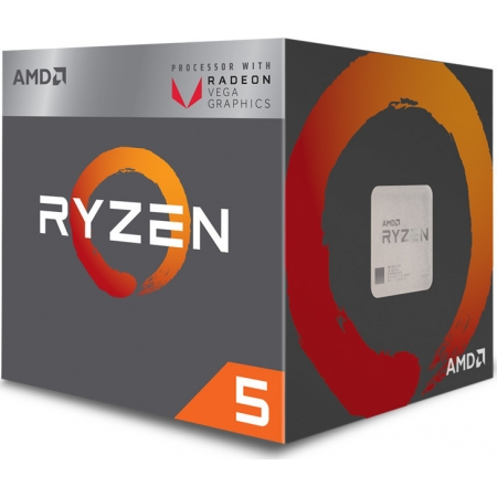 CPU AMD AM4 RYZEN 5 2400G 3,6GH...