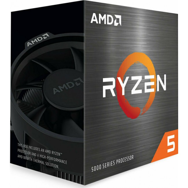 CPU AMD AM4 RYZEN 5 5600X 3.7GHz BOX 100-100000065BOX