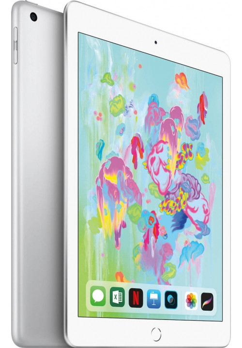 "APPLE IPAD 2018 9.7"" 128GB 4G SILVER (MR732) (ΜΕ ΑΝΤΑΠΤΟΡΑ) EU"