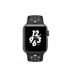 APPLE WATCH NIKE+ 38mm GRAY ALUMINUM CASE BLACK  COOL (MNYX2) (ΜΕ ΑΝΤΑΠΤΟΡΑ) EU