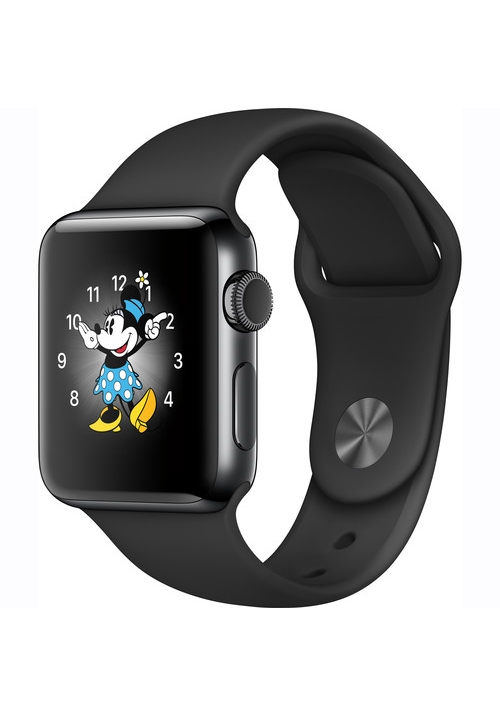 APPLE WATCH 2 38mm BLACK STAINLESS STEEL BLACK MP492 (ΜΕ ΑΝΤΑΠΤΟΡΑ) EU