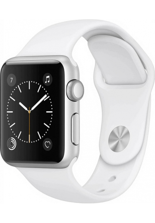 APPLE WATCH SERIES 1 42mm SILVER BAND WHITE MNNL2 (ΜΕ ΑΝΤΑΠΤΟΡΑ) EU