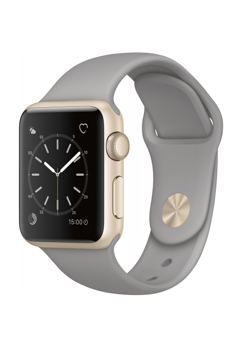 APPLE WATCH SERIES 1 38mm GOLD BAND CONCRETE MNNJ2 (ΜΕ ΑΝΤΑΠΤΟΡΑ) EU