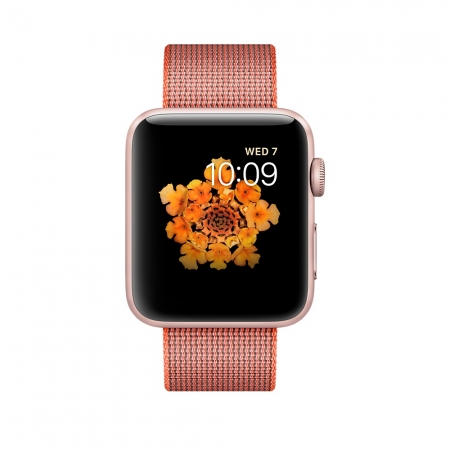 APPLE WATCH 2 42mm ROSE WOVEN N...