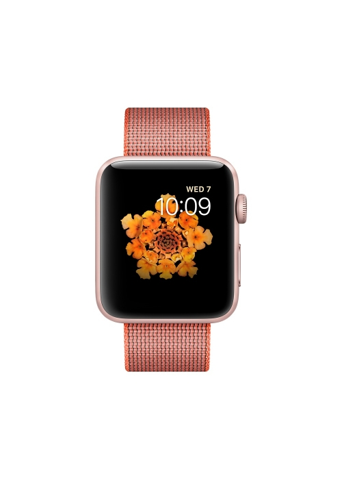 APPLE WATCH 2 42mm ROSE WOVEN NYLON ORANGE MNPM2 (ΜΕ ΑΝΤΑΠΤΟΡΑ) EU