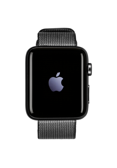 APPLE WATCH 2 42mm GRAY WOVEN NYLON BLACK MP072  (ΜΕ ΑΝΤΑΠΤΟΡΑ) EU
