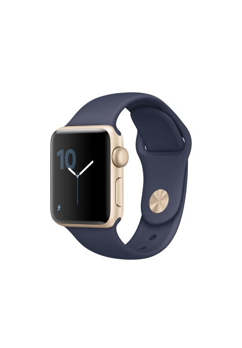 APPLE WATCH SERIES 1 38mm GOLD BAND MIDNIGHT BLUE MQ102 (ΜΕ ΑΝΤΑΠΤΟΡΑ) EU