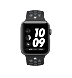 APPLE WATCH NIKE+ 42mm SPACE GRAY ALUMINUM CASE WITH BLACK/COOL EU