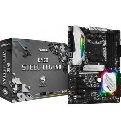 MOTHERBOARD ASROCK B450 STEEL LEGEND AMD AM4 90-MXBA00-A0UAYZ