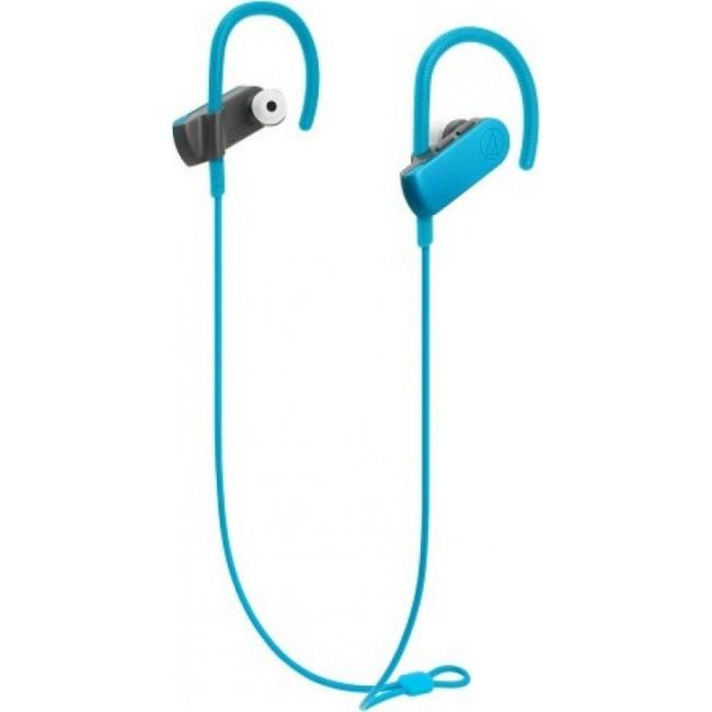BLUETOOTH AUDIO-TECHNICA EARPHONES GREEN ATH-SPORT50BT-BL