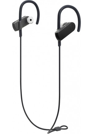 BLUETOOTH AUDIO-TECHNICA WIRELESS EARPHONES BLACK ATH-SPORT70BT