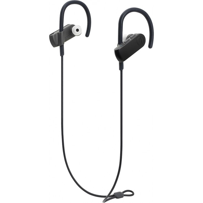BLUETOOTH AUDIO-TECHNICA WIRELESS EARPHONES BLACK ATH-SPORT70BT