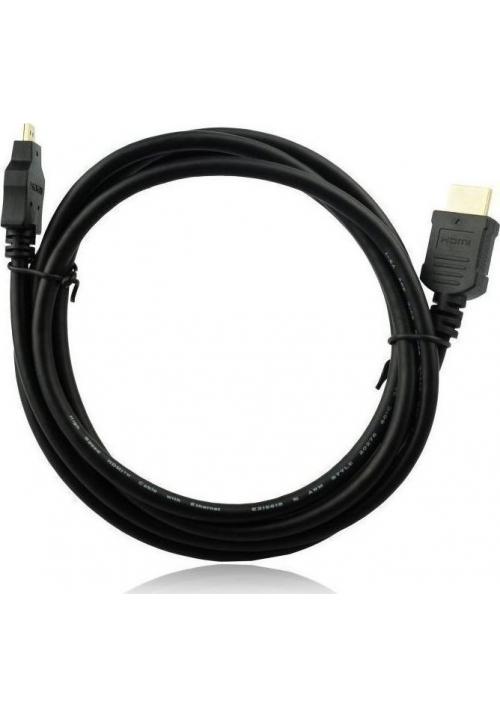 Καλώδιο Hdmi A to Micro 1.8m  Black Al-OEM-38