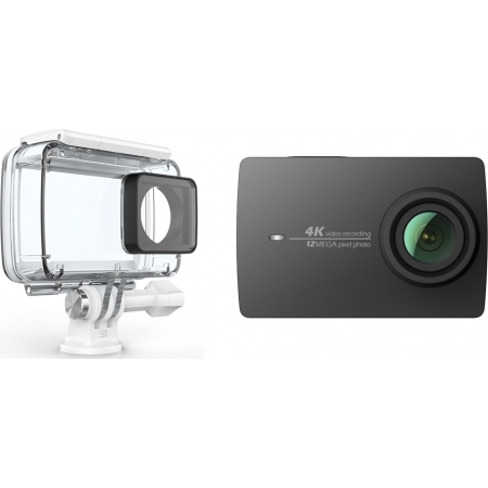 YI ACTION CAMERA 4K BLACK+WATER...