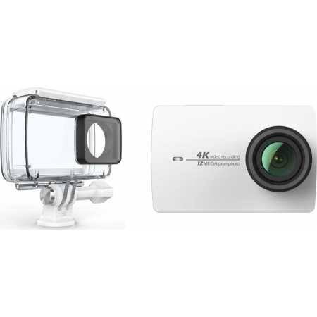 YI ACTION CAMERA 4K WHITE+WATER...