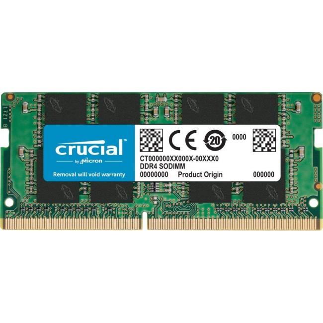 RAM CRUCIAL 4GB DD4-2400MHz SODIMM CT4G4SFS824A