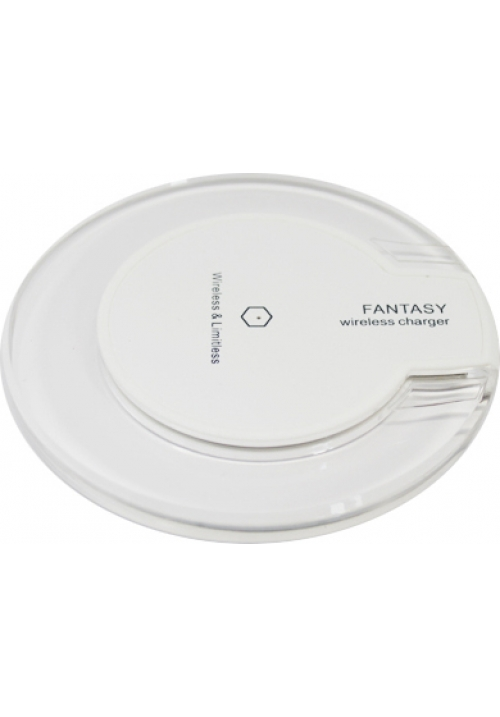 OEM Fantasy Crystal Wireless Charging Pad (Qi) Λευκό