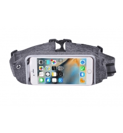 "Θήκη για Smartphone 5.5"" Easy Go Waist Bag Grey"