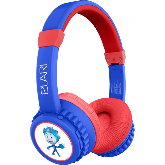 ELARI FIXITONE AIR KIDS WIRELESS HEADPHONES FT-2 BLUE/RED EU