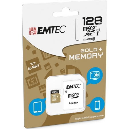 EMTEC MICRO SD (WITH ADAPTOR) 1...