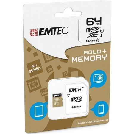 MICRO SD EMTEC (WITH ADAPTOR) 6...