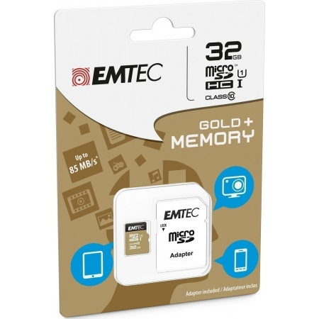 MICRO SD EMTEC (WITH ADAPTOR) 3...