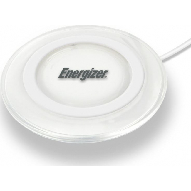Energizer Wireless Charging Pad 5W and Micro Usb Cable White