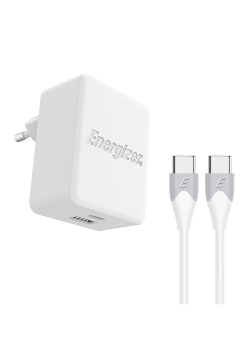 Energizer Fast Charging Wall Charger 30W and USB-C Cable (ACIIPFEUUCC3)