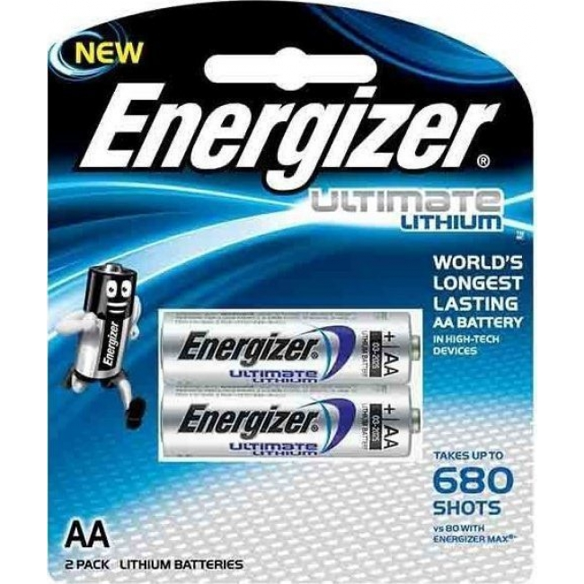 ENERGIZER ULTIMATE LITHIUM AA LR 6