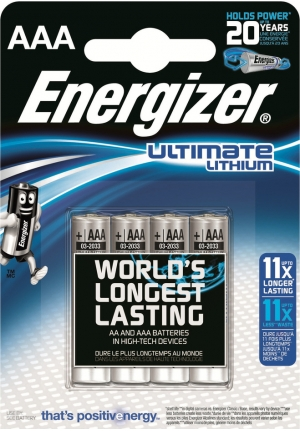 ENERGIZER ULTIMATE LITHIUM MICRO AAA LR 03