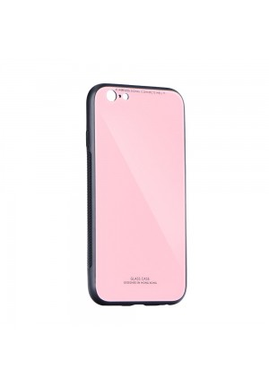 ΘΗΚΗ ΓΙΑ SAMSUNG GALAXY A21S FORCELL GLASS PINK