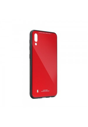 ΘΗΚΗ ΓΙΑ XIAOMI NOTE 9S /9 PRO FORCELL GLASS RED