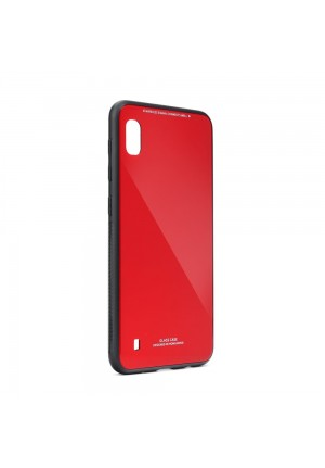 ΘΗΚΗ ΓΙΑ SAMSUNG GALAXY A21S FORCELL GLASS RED