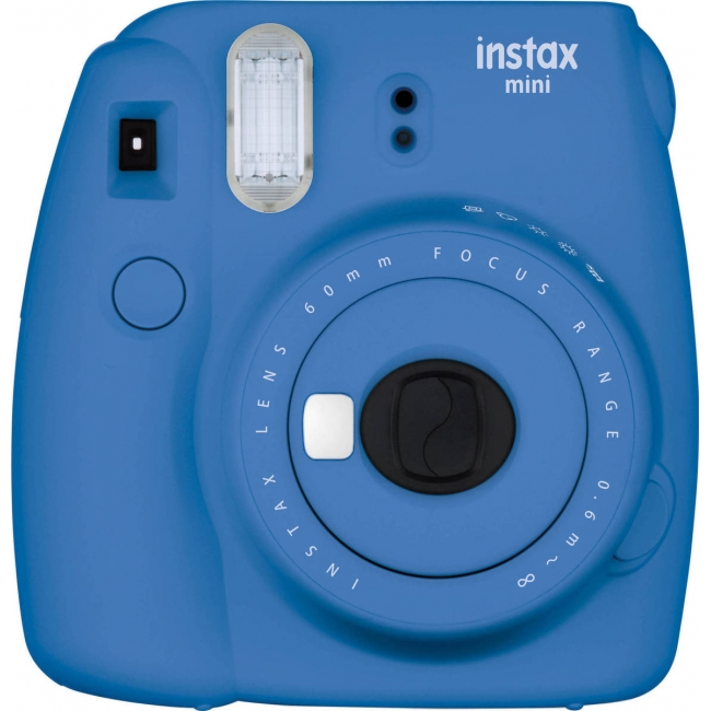 FUJIFILM INSTAX MINI 9 INSTANT PRINT CAMERA COBALT BLUE