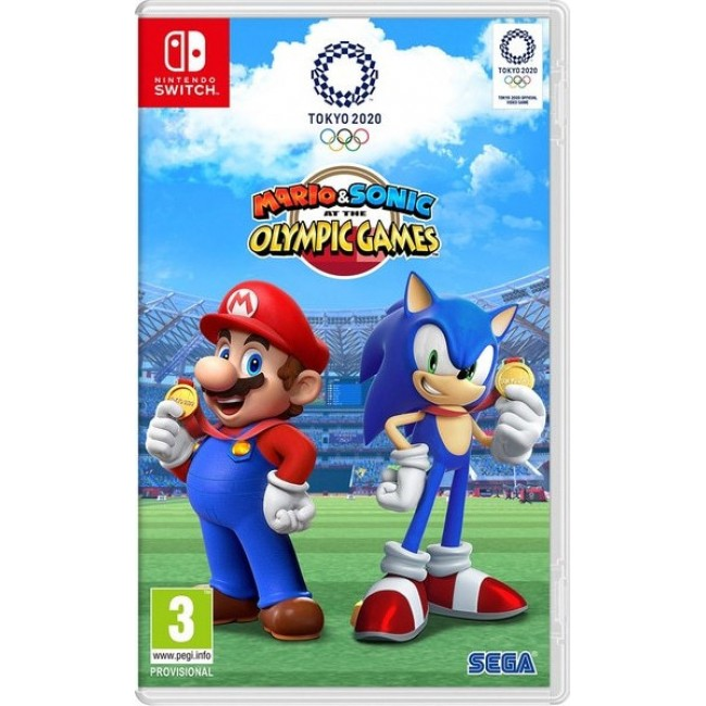 NINTENDO SWITCH MARIO&SONIC AT THE TOKYO 2020 OLYMPIC GAMES GAME