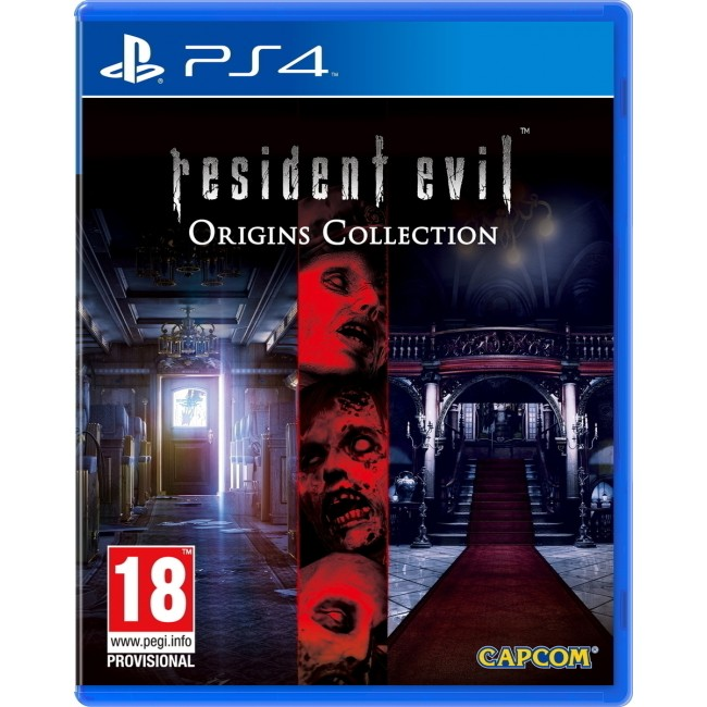 PS4 RESIDENT EVIL ORIGINS COLLECTION GAME
