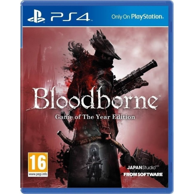 PS4 BLOODBORNE GAME OF THE YEAR GAME