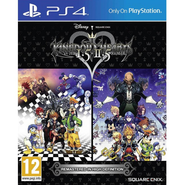 PS4 KINGDOM HEARTS 1.5&2.5 REMIX GAME