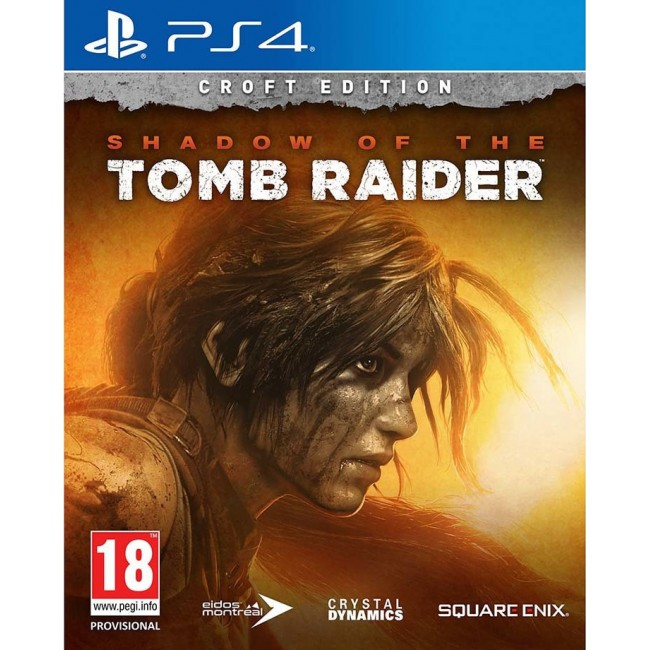 PS4 SHADOW OF TOMB RAIDER CROFT EDITION GAME