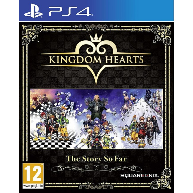 PS4 KINGDOM HEARTS THE STORY SO FAR GAME