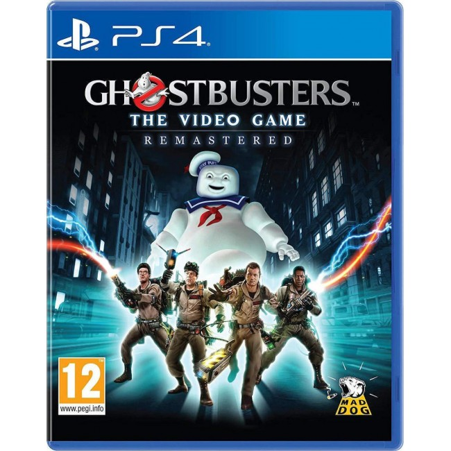 PS4 GHOSTBUSTERS THE VIDEO GAME REMASTERED GAME