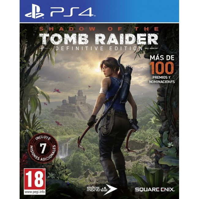 PS4 SHADOW OF THE TOMB RAIDER DEFINITIVE EDITION GAME