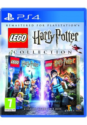 PS4 LEGO HARRY POTTER 1-7 GAME