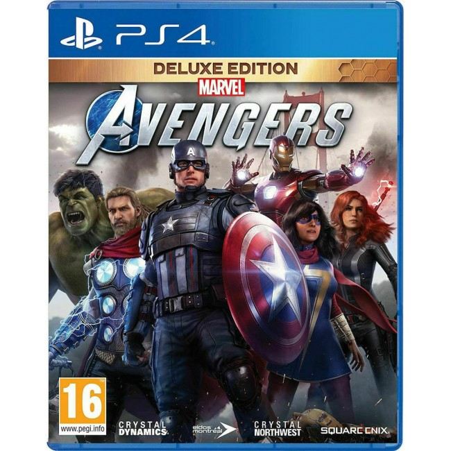 PS4 MARVEL'S AVENGERS DELUXE EDITION GAME
