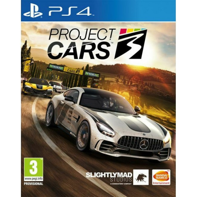 PS4 PROJECT CARS 3 GAME