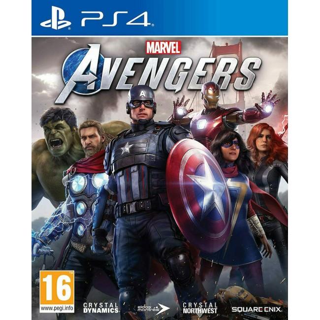 PS4 MARVEL AVENGERS GAME
