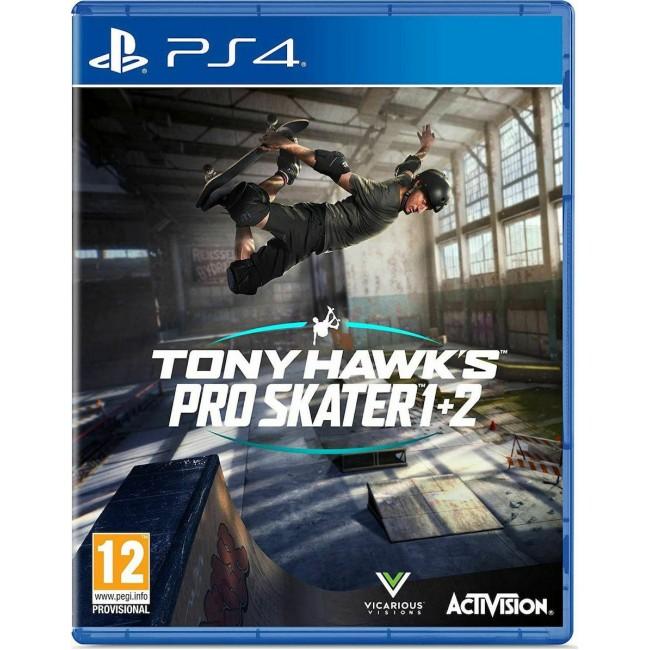 PS4 TONY HAWK'S PRO SKATER 1+2 GAME